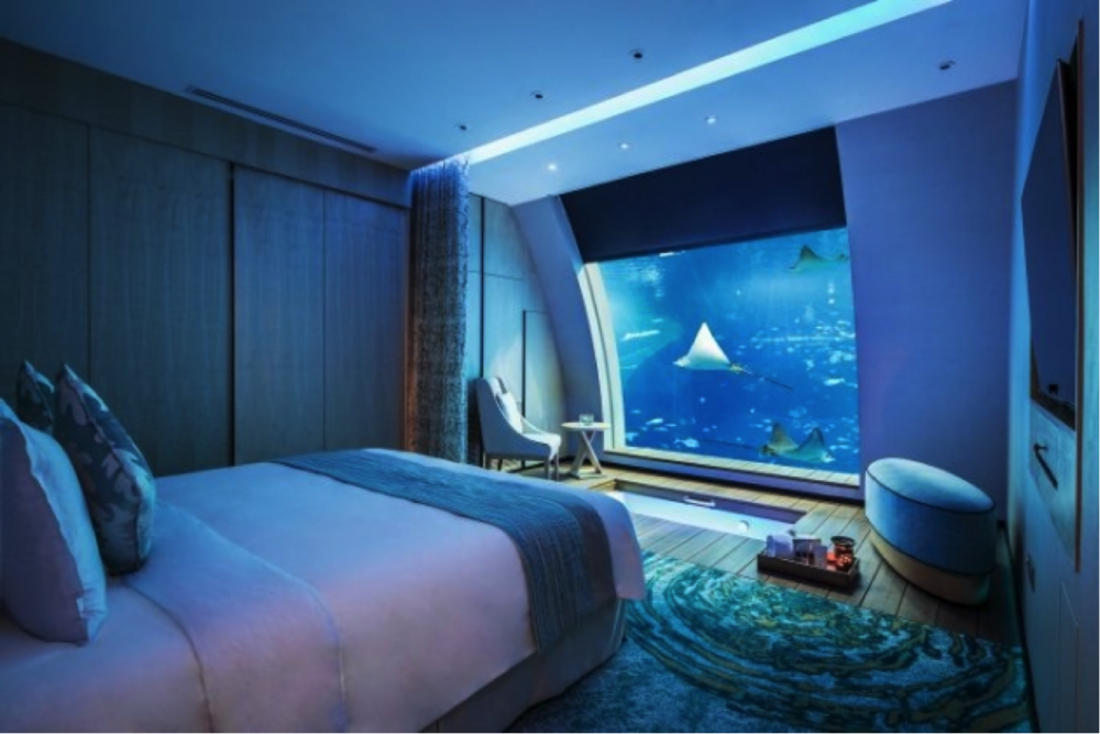 The enchanting Ocean Suite at the Resort World Sentosa