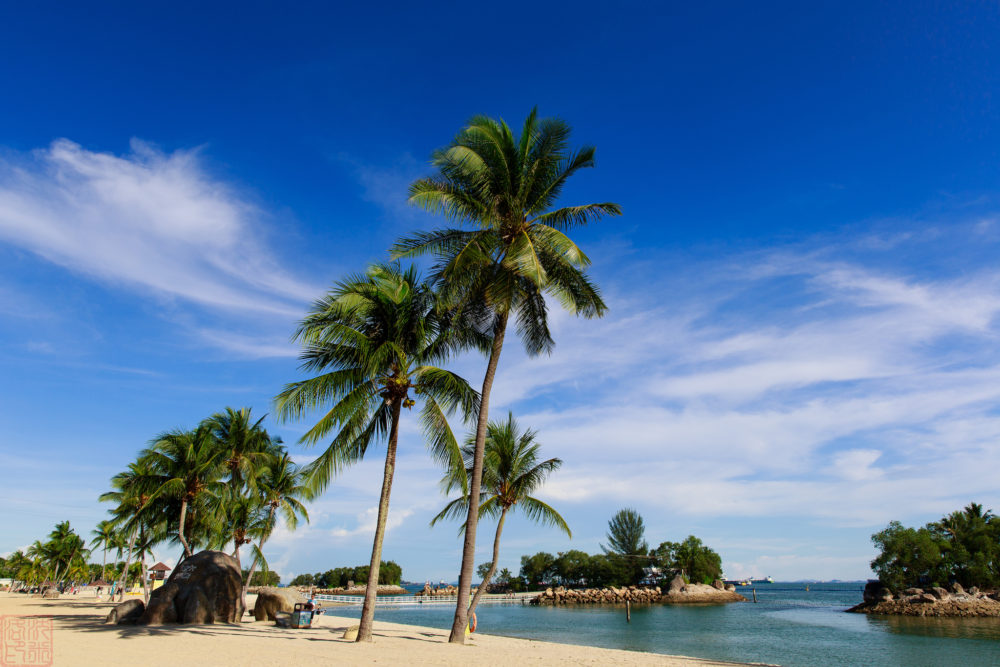 Sentosa's beach can now be used for BBQs