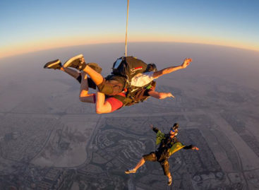 The top 5 places to sky dive in Asia