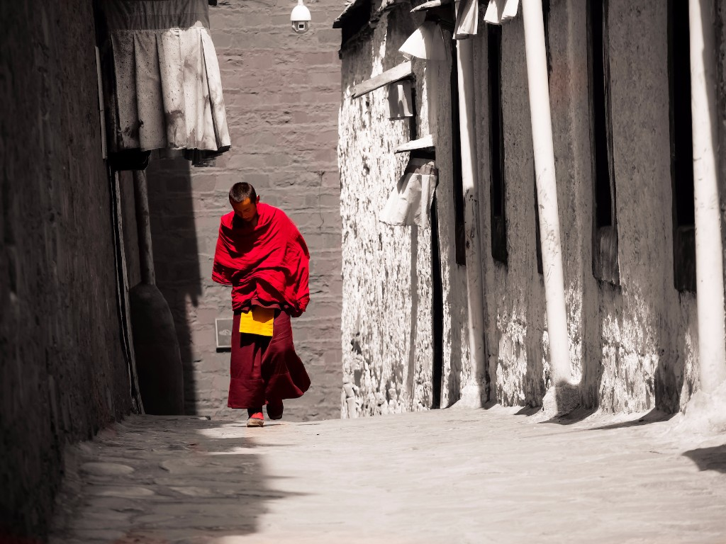 monk-at-tashilumpo-monastery