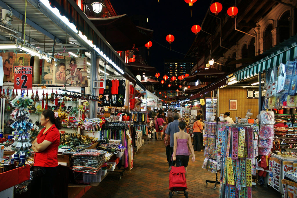 """chinatown neighbourhood guide street market night"""