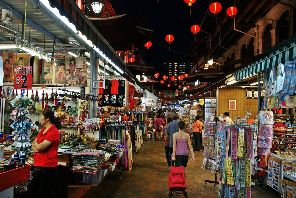 """chinatown neighbourhood guide street market night"""