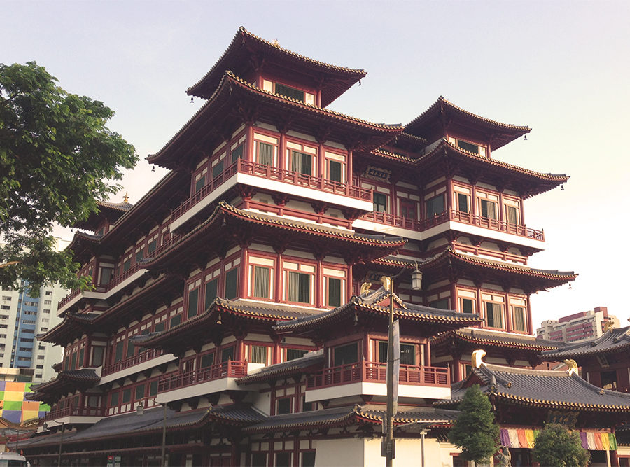 Chinatown, Temple, Singapore, Buddha Tooth Relic Temple