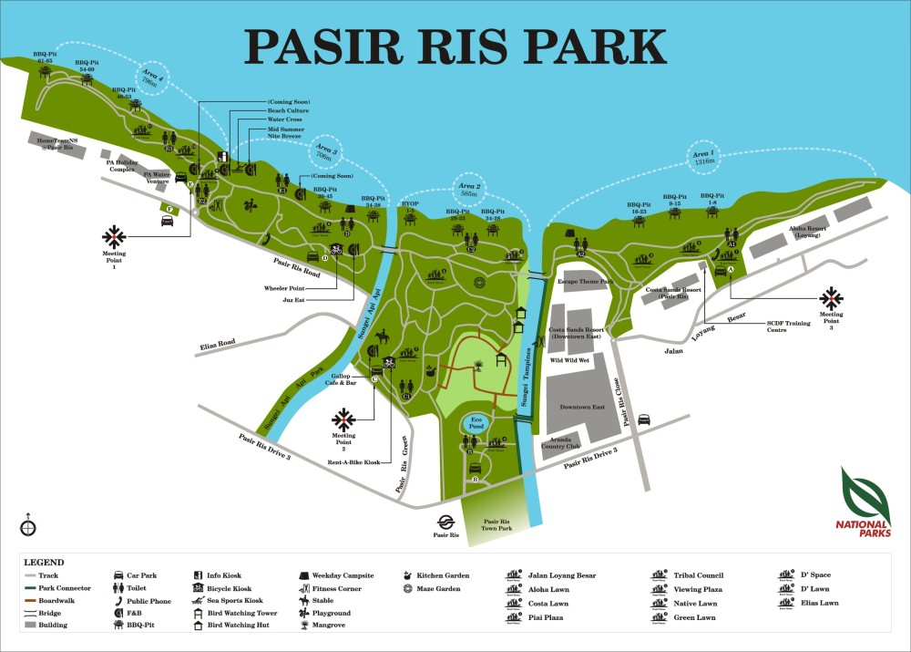 Pasir Ris Park -from Nparks