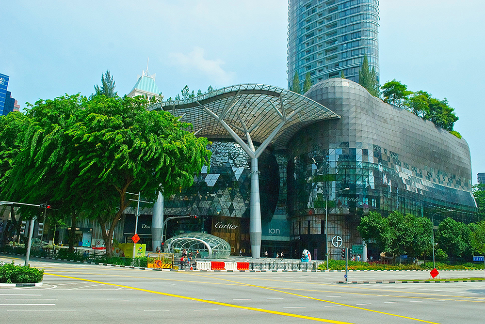 ION Orchard offers an amazing view from its rooftop