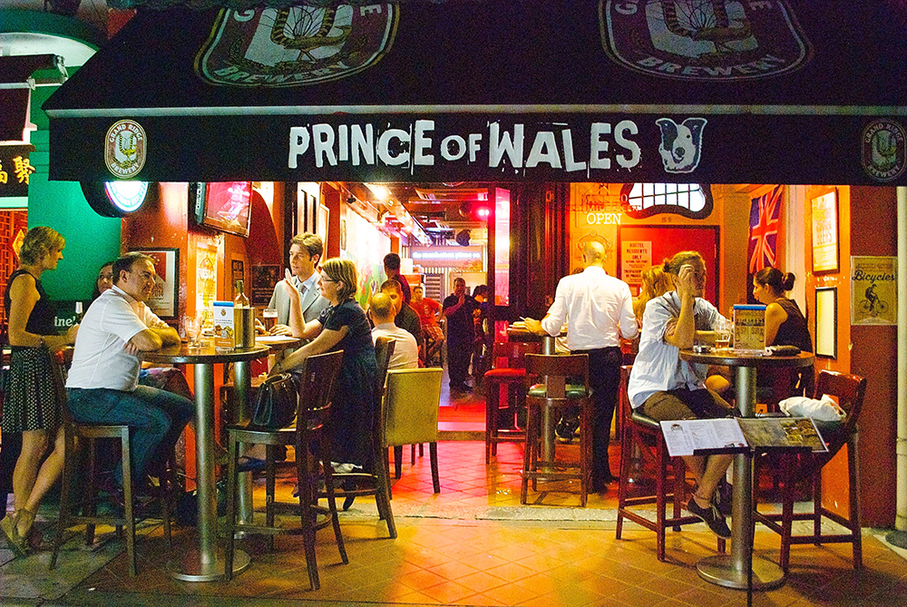 Fun pub quizzes are held weekly at the Prince of Wales