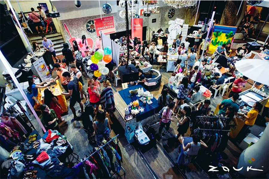 """flea market singapore flea and easy zouk club interesting affordable shopping"""