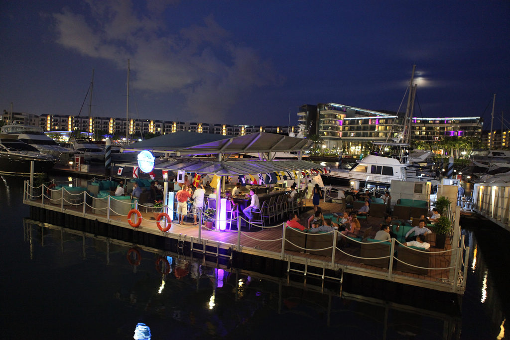 """boaters bar where to drink sentosa cove neighbourhood guide luxury marina club"""