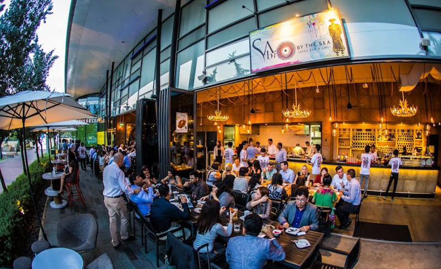 """sabio by the sea restaurant spanish tapas quayside isle sentosa cove"""