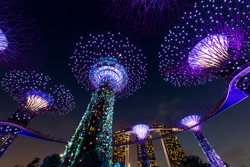 """gardens by the bay, singapore, garden, holiday, travel, Singapore great"""