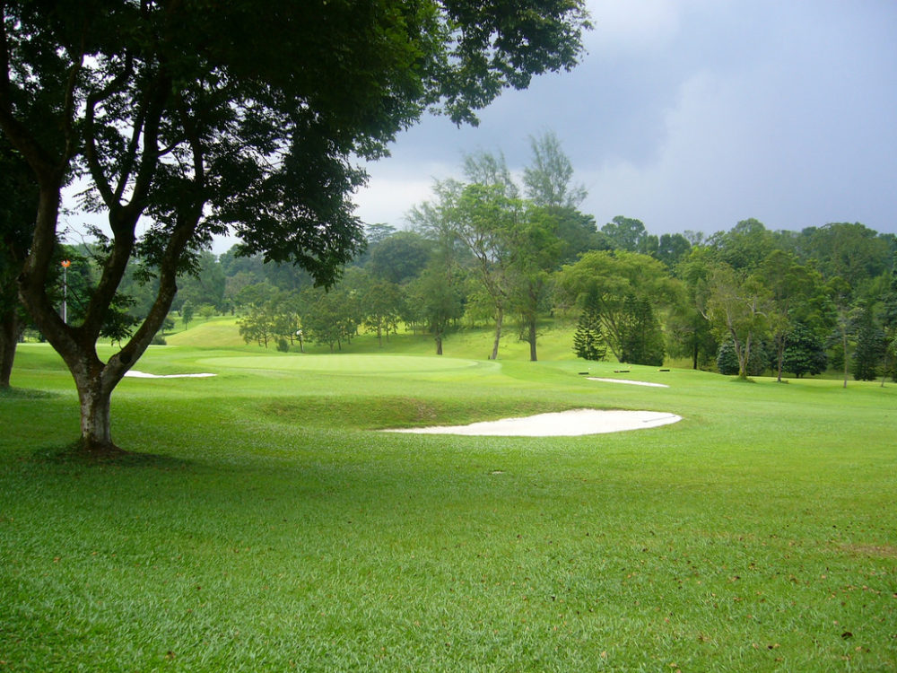Singapore Island Country Club's Bukit Golf Course, Photo by Benoit Mortgat