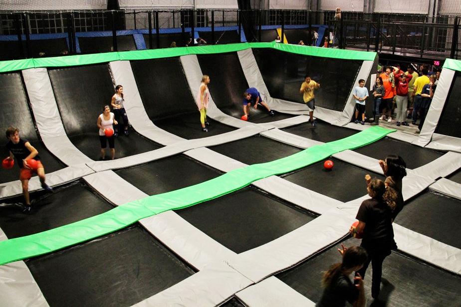 """dodgeball, trampoline, fun, singapore, sports, exciting activities singapore"""