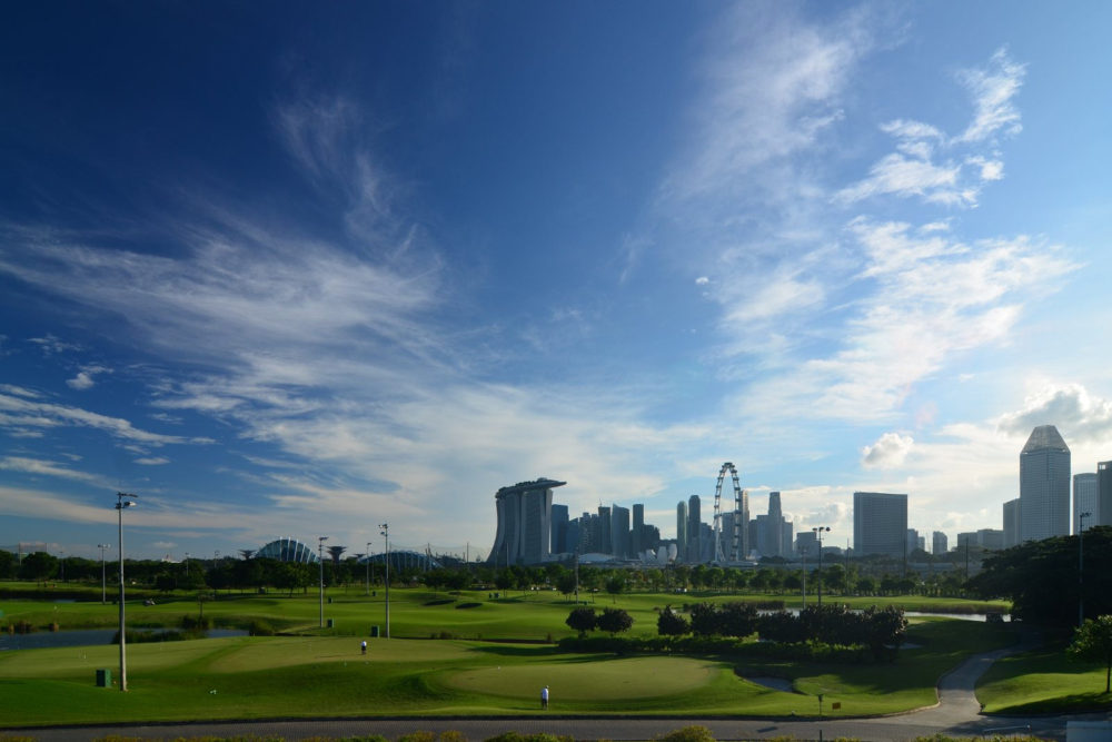 Marina Bay Golf Course, Picture by Nicolas Lannuzel