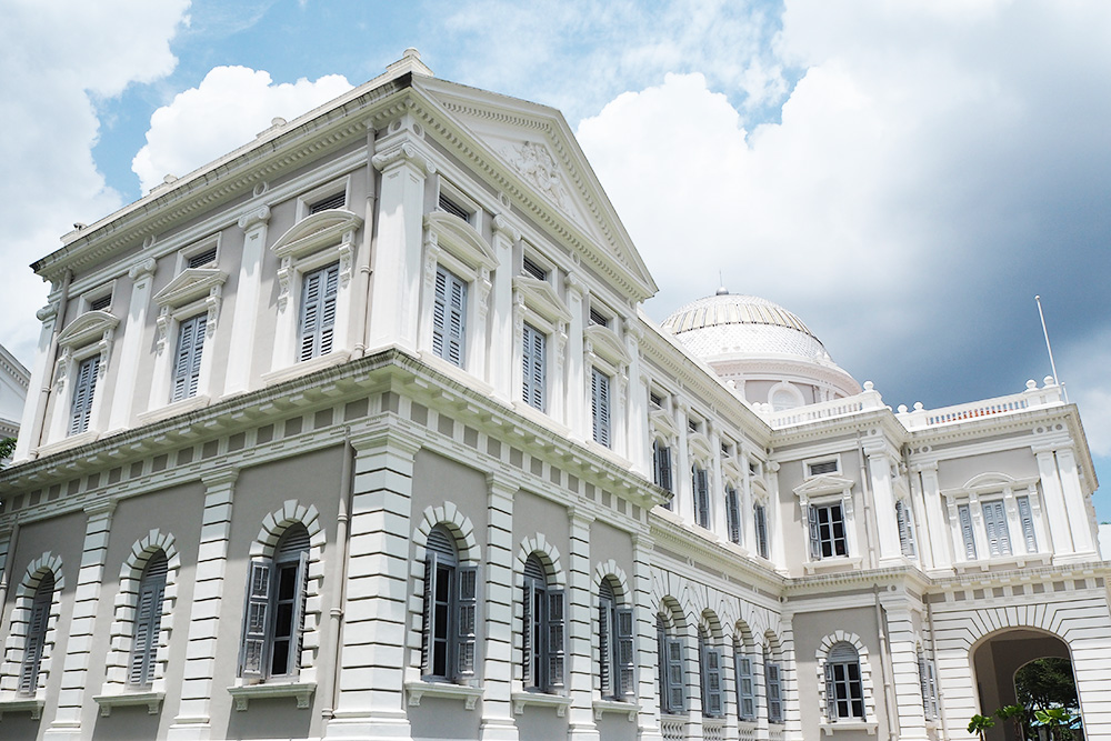 singapore, national, museum, architecture