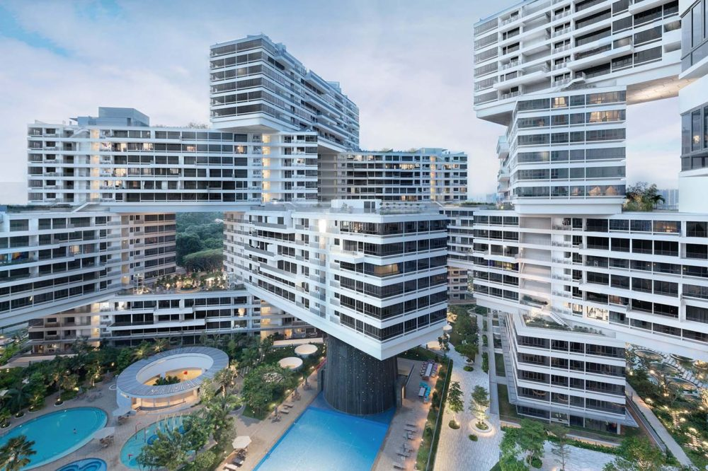 """interlace ole schereen singapore uniquely designed buildings"""