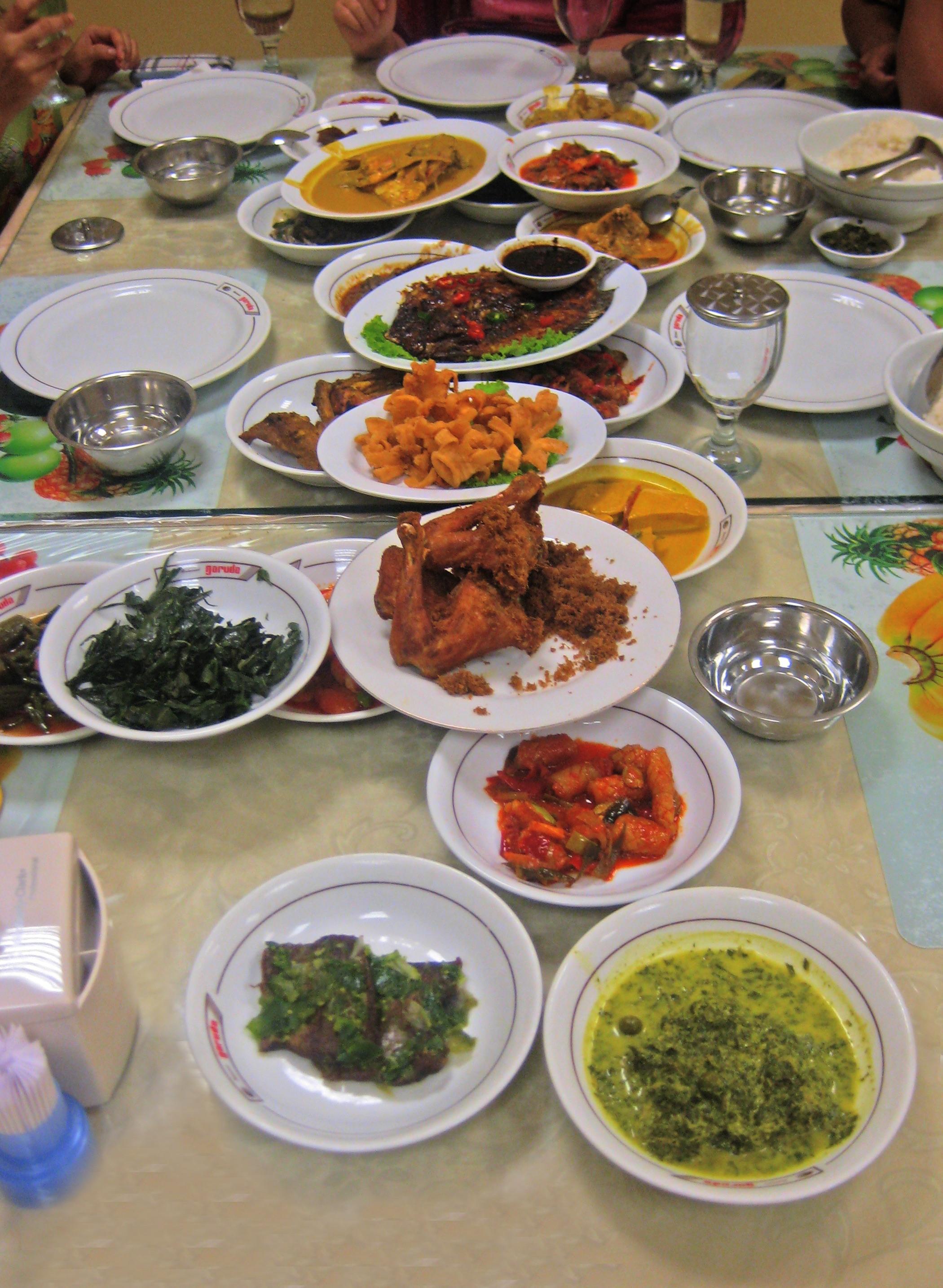 Dinner at Restoran Garuda