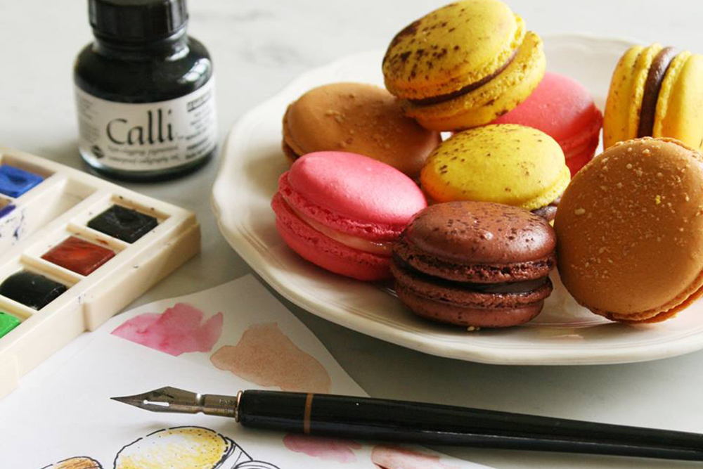 """macarons, do.main bakery, geylang guide, neighbourhood, singapore"""