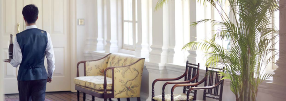 """butlers service the raffles hotel singapore review"""