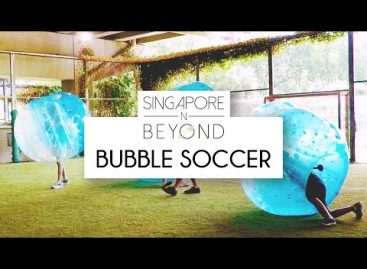 [VIDEO] Bubble Soccer Singapore