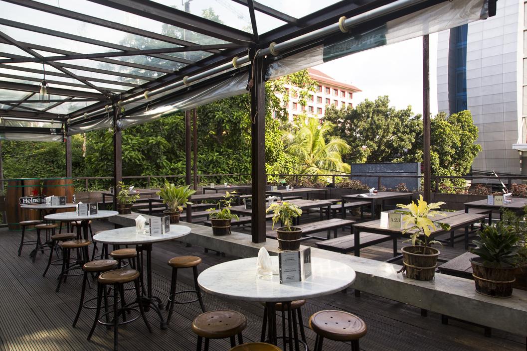 Beer Garden in Menteng Jakarta