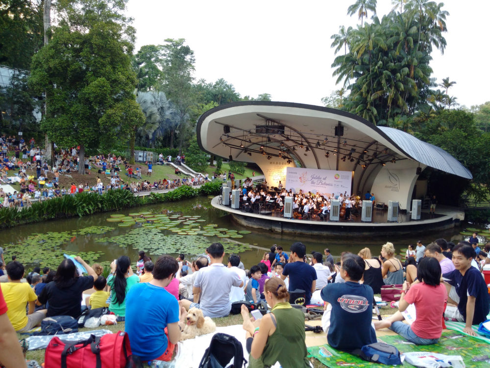 """symphony stage botanic gardens free things singapore"""