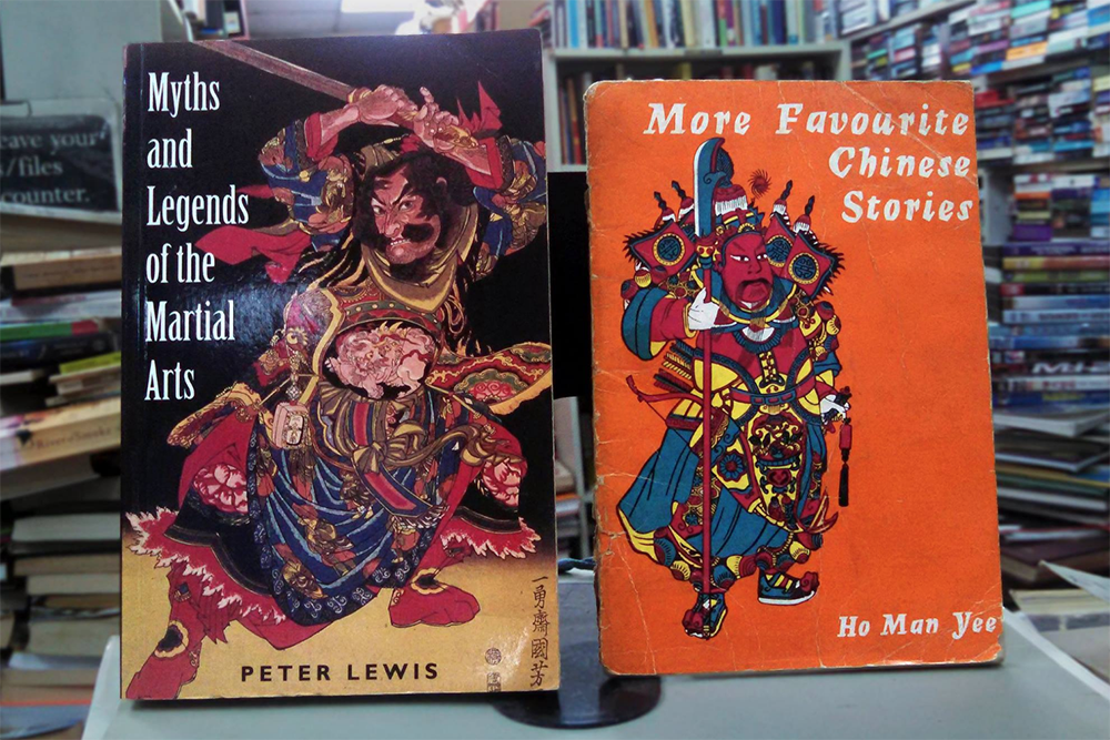 Secondhand bookstores in Singapore