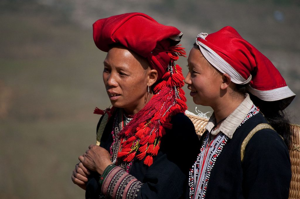 Red Dao people of Sapa