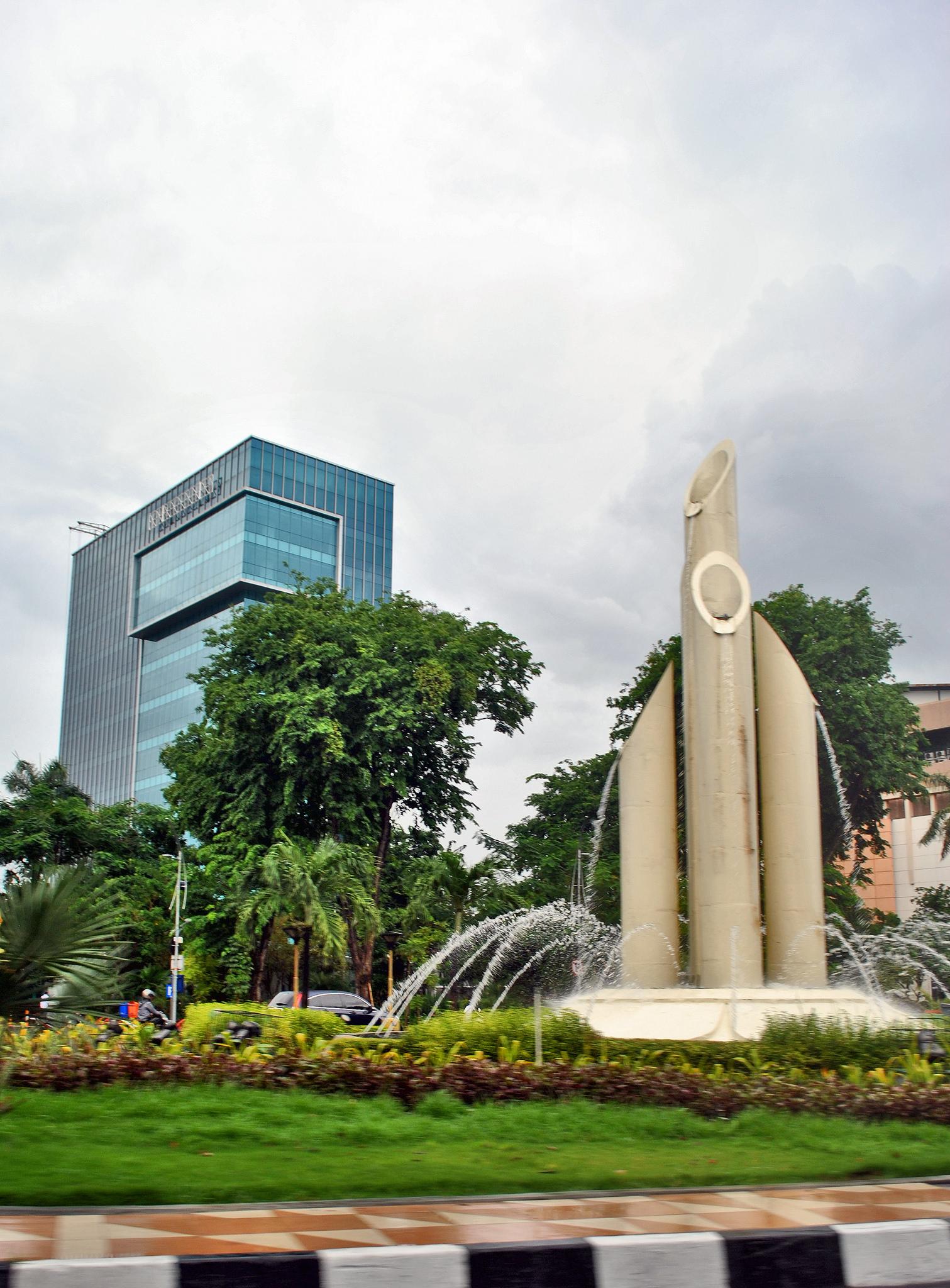 Bambu Runcing Monument