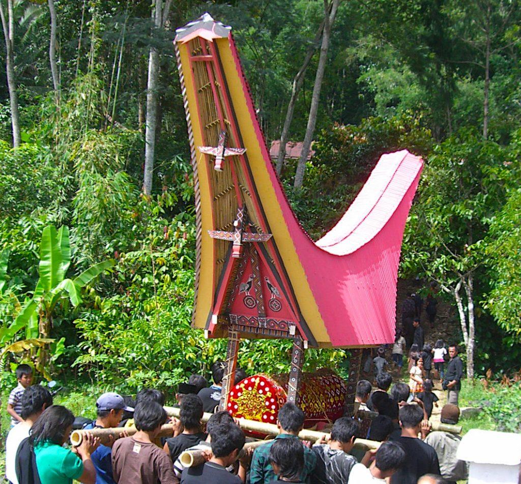 Burial in Tana Toraja