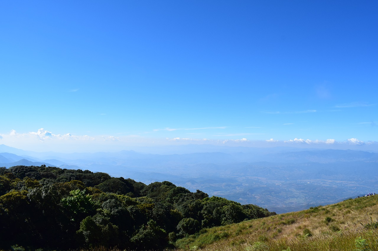 Day view of Doi Inthanon