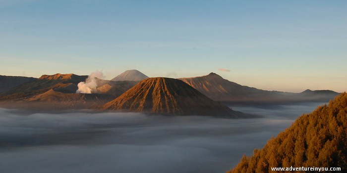 Early morning over Mount Bromo