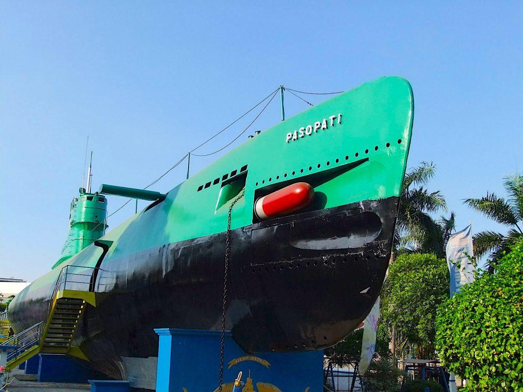 Kapal Selam or Submarine Monument in Surabaya