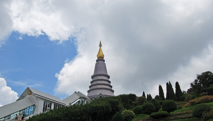 One of the Twin royal pagodas in Doi Inthanon