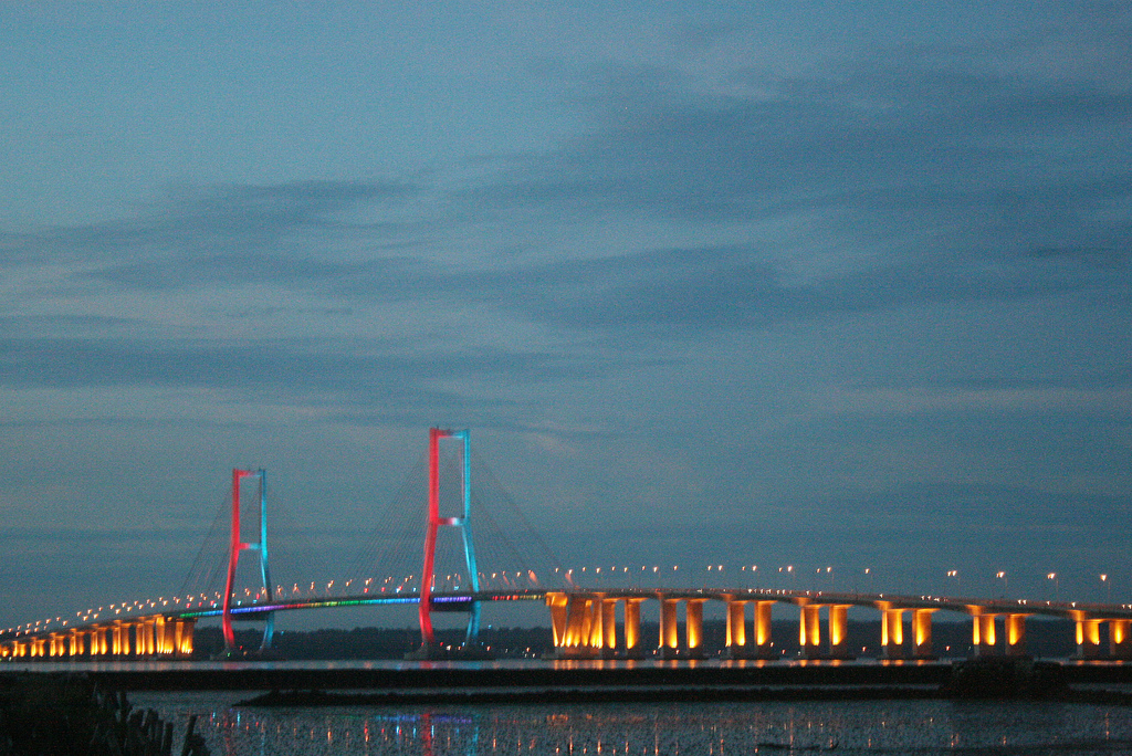 Surabaya Suramadu bridge
