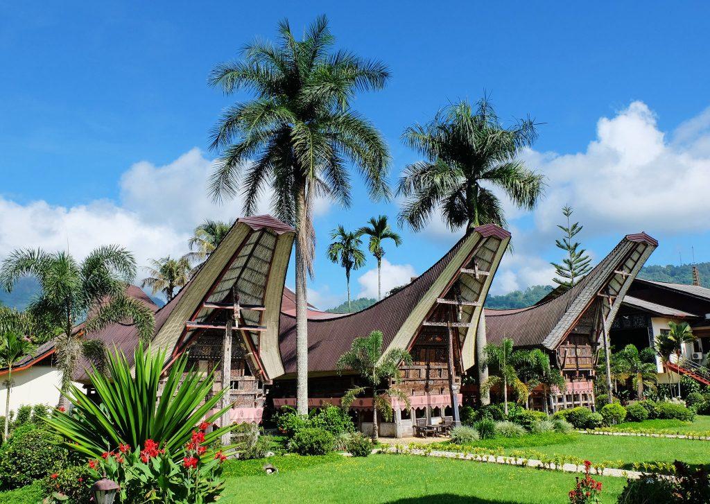 Tongkonan Traditional Houses in Tana Toraja