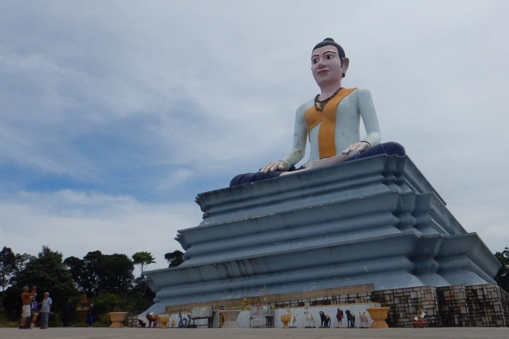 Lok Yeay Mao Statue Bokor Mountain