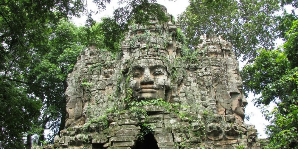Gates to Angkor Thom