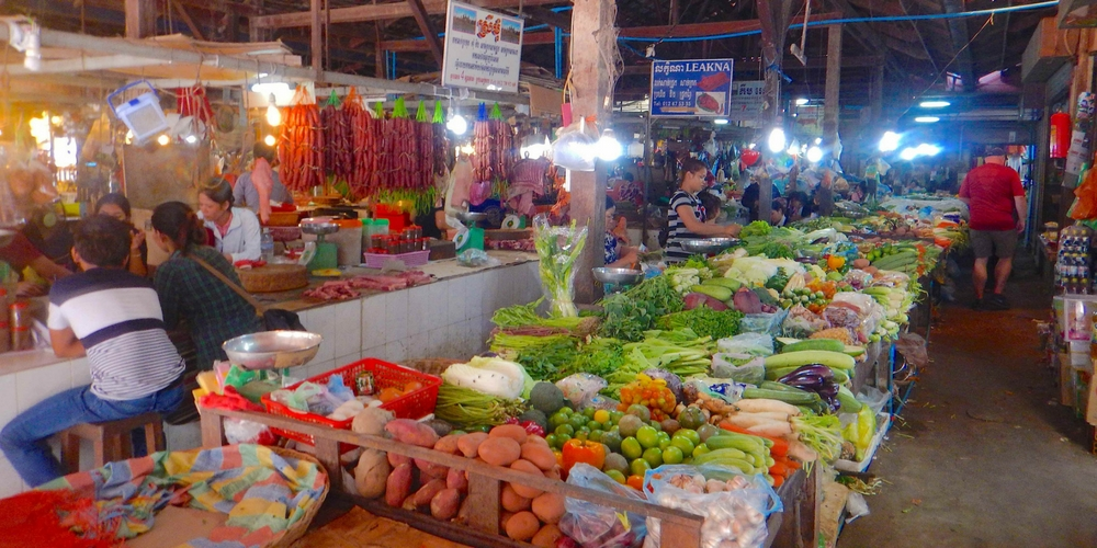 Siem Reap Food Market