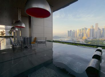 A staycation at the JW Marriott Singapore South Beach