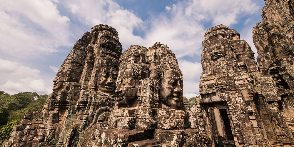 The Bayon in Angkor Thom