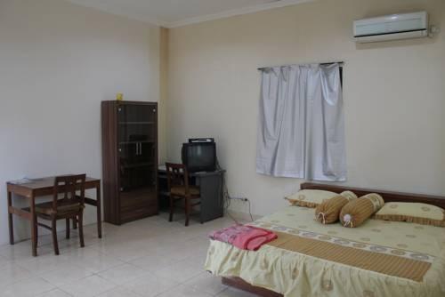 Imam Bonjol Hostel room