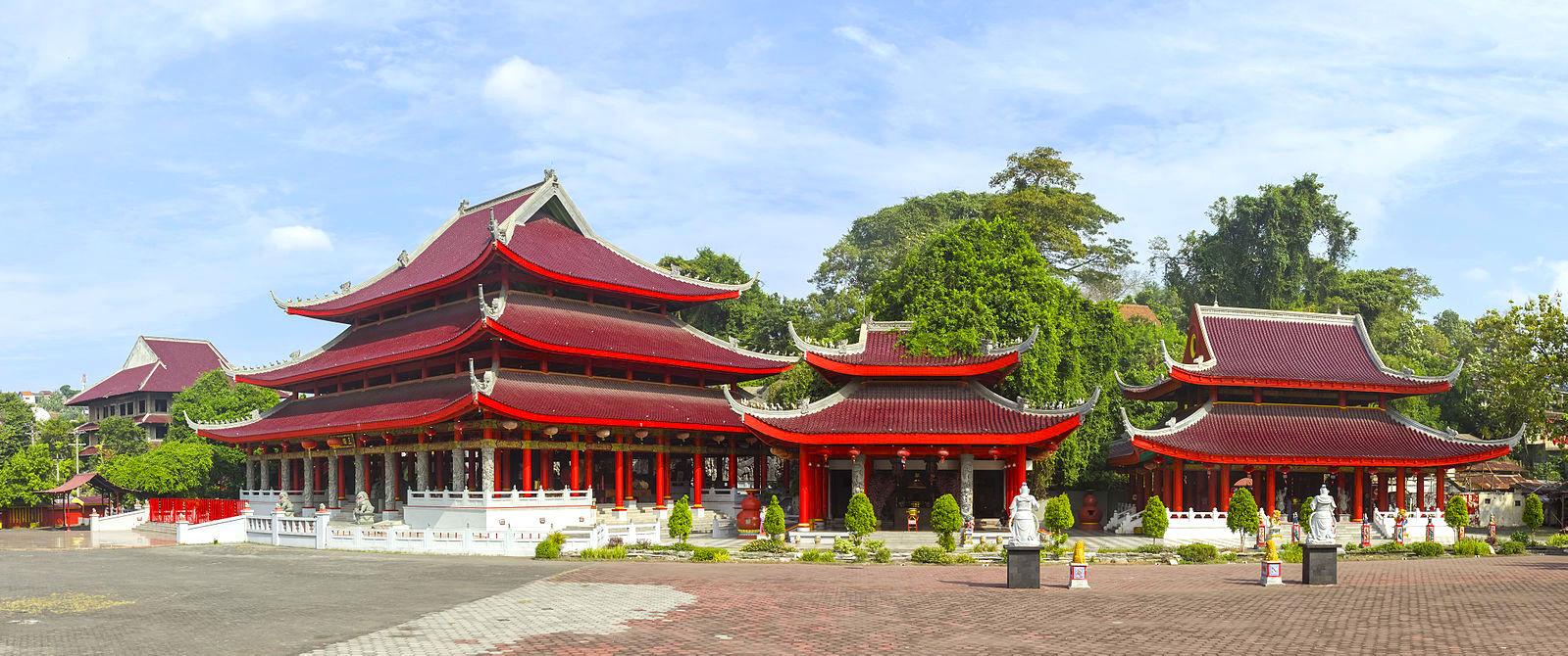 Three Temples at Sam Poo Kong