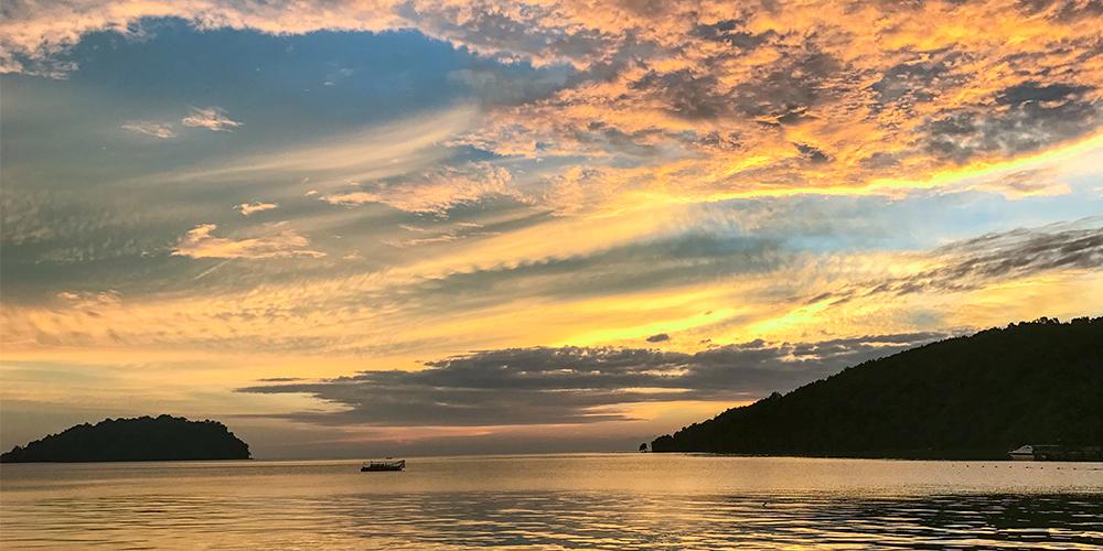 Manukan-Island-sunset