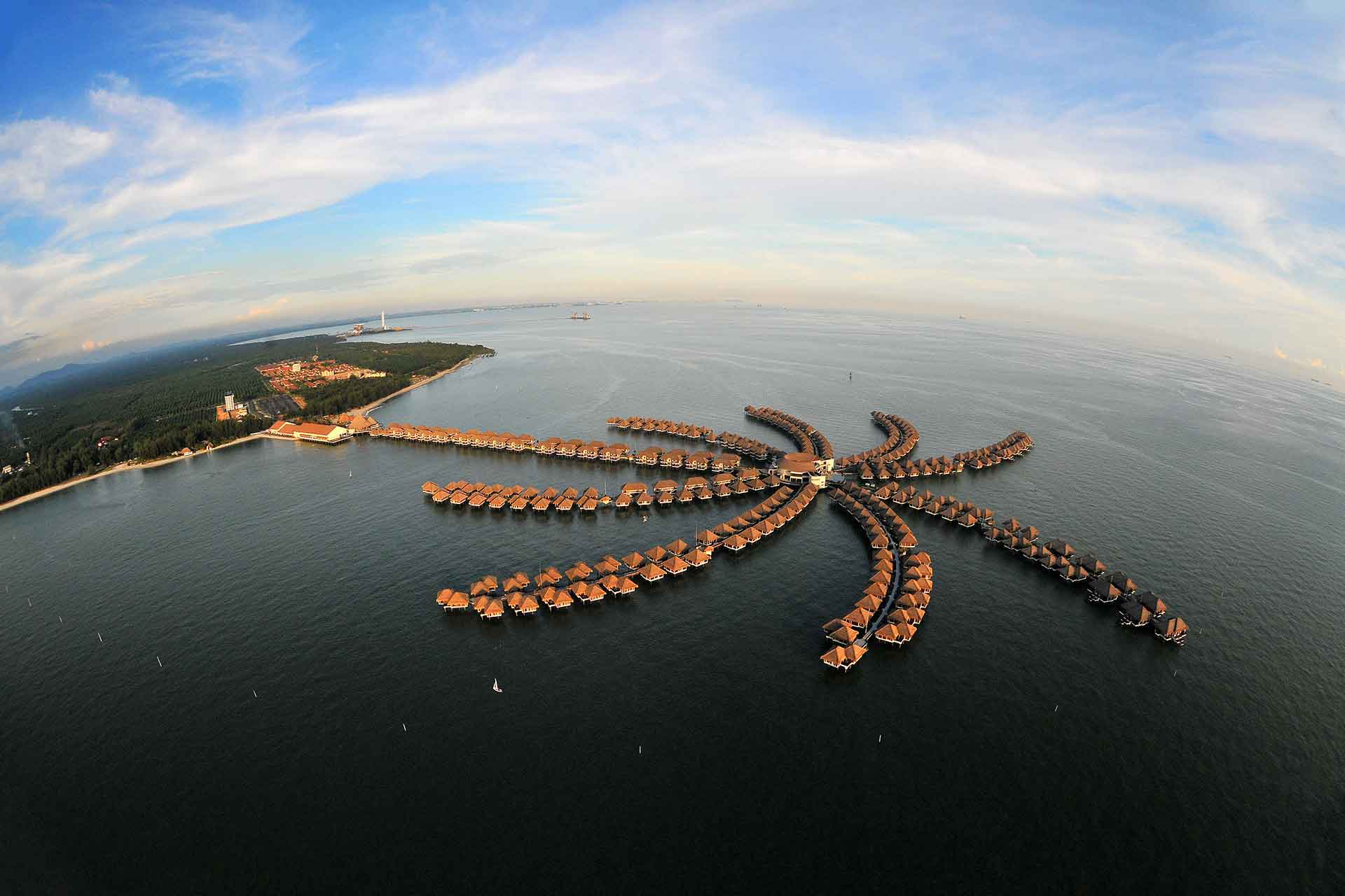 overwater bungalows in asia, avani