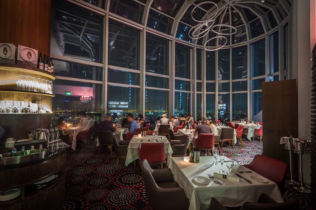 restaurants with a view in singapore, salt