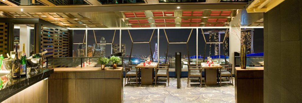 restaurants with a view in singapore, tong