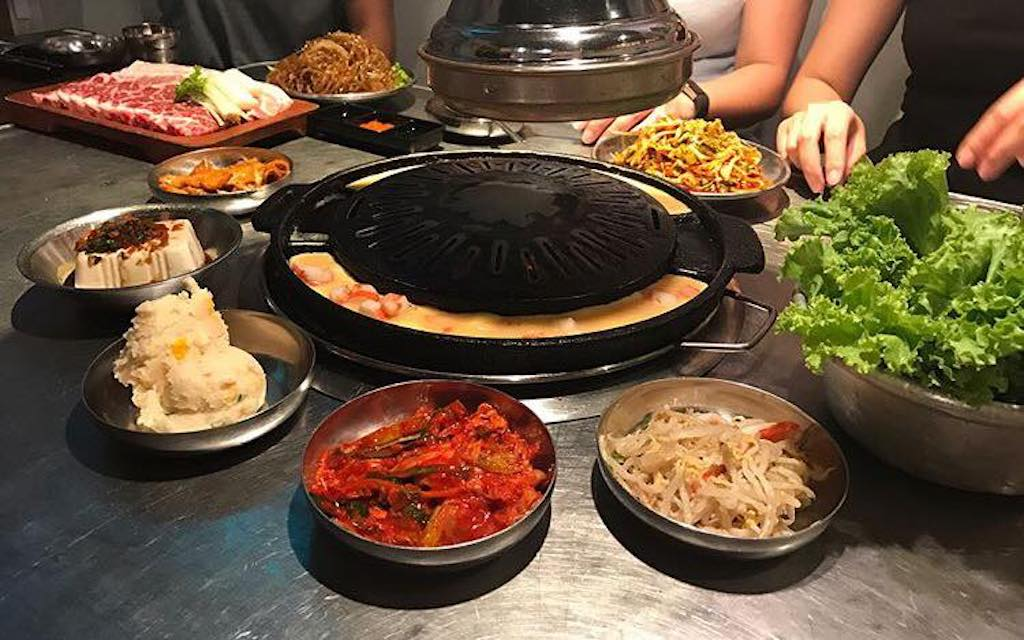 korean restaurants in singapore, wang