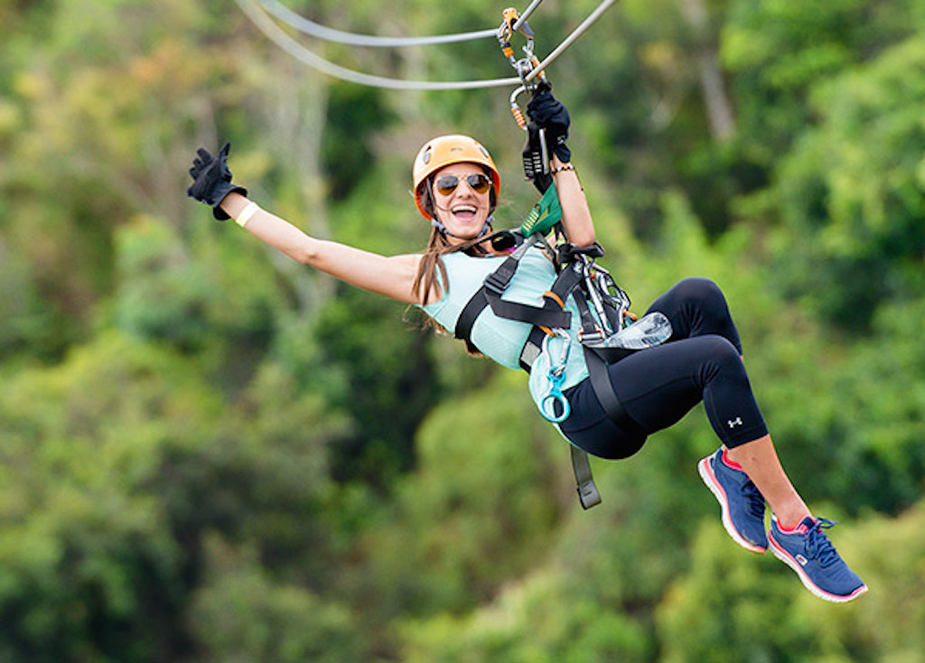 adventure birthday ziplines