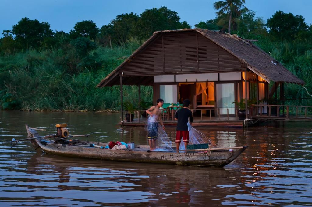 Mekong Floating Bungalows