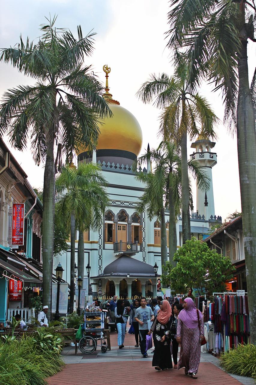 """Sultan Mosque Singapore"""